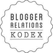 Blogger Relations Kodex</div> 		</aside><aside id=